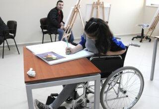 Engelli işçi