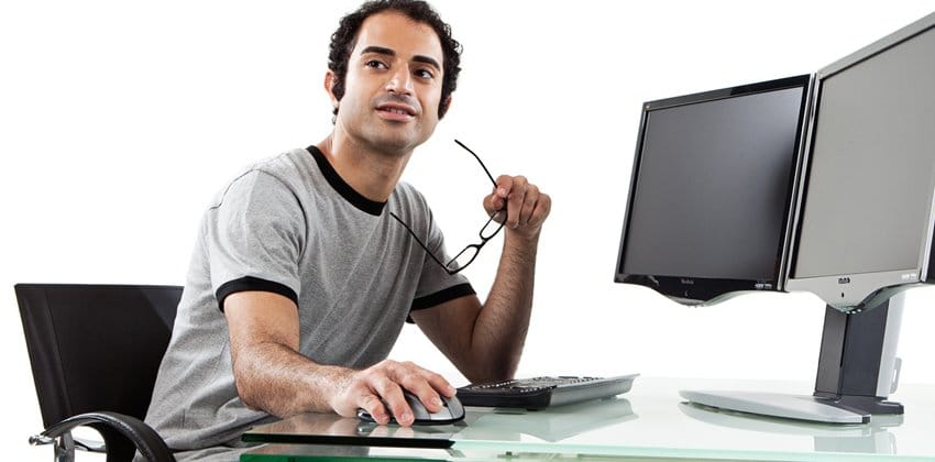 Bilgisayar çalışan