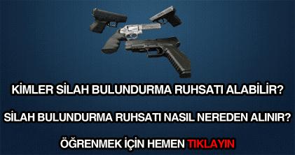 Silah Bulundurma Ruhsatı