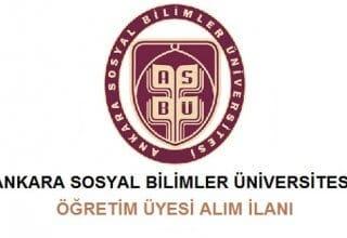 Ankara Sosyal Bilimler Üniversitesi