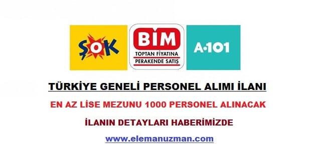 Bim, A101, Şok