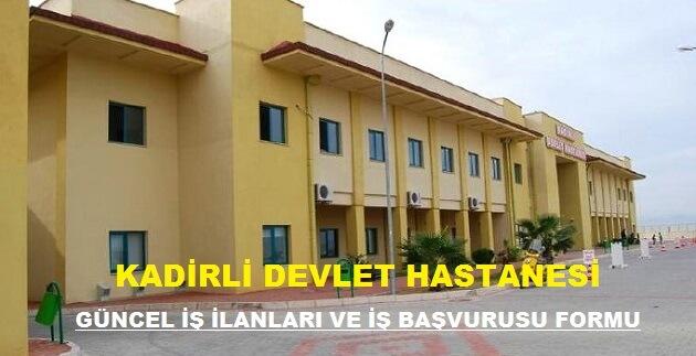 Kadirli Devlet Hastanesi
