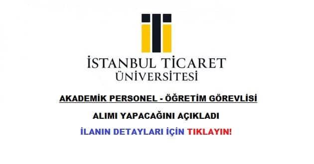 İstanbul Ticaret Üniversitesi