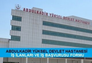 Abdulkadir Yüksel Devlet Hastanesi