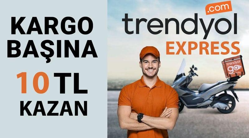Trendyol express kurye